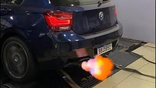 AUMENTAMOS A POTENCIA DA NOSSA BMW E AGORA DA TIRO E SAI FOGO!!!