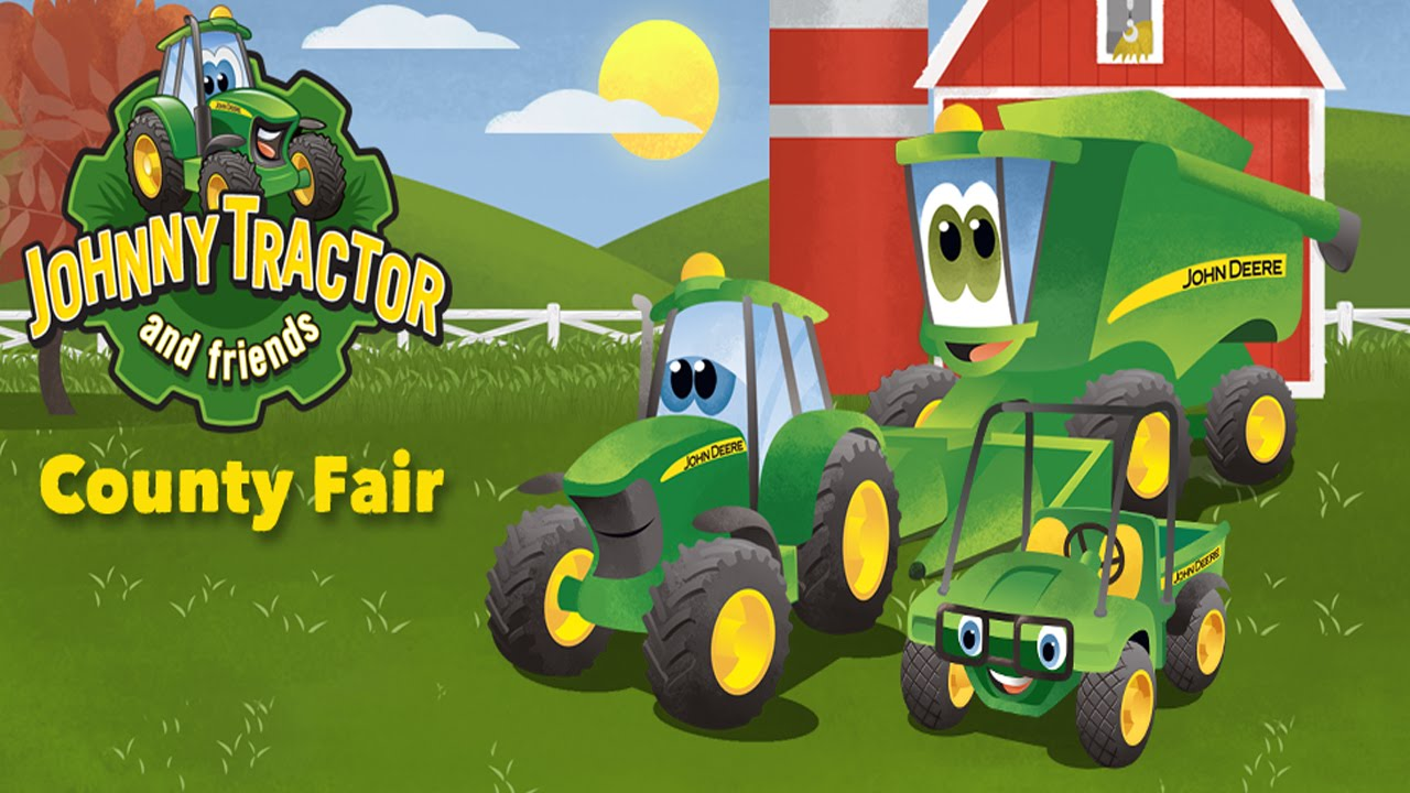 Johnny Tractor Cartoon : Johnny tractor and friends county fair soul vibe
