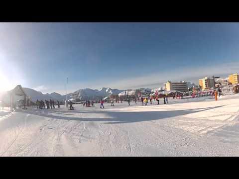 Alpe d'Huez Video Snow Report: 3rd January 2016