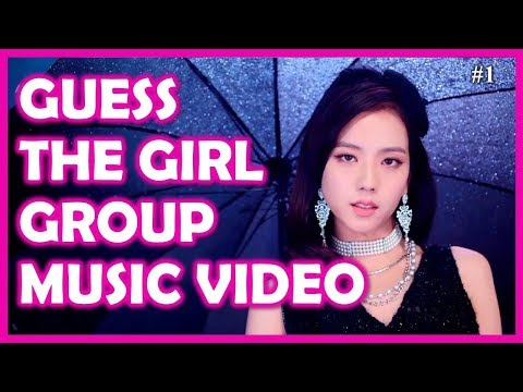 KPOP QUIZ: Guess the Kpop Girl Group Music Video in 1 second  #1