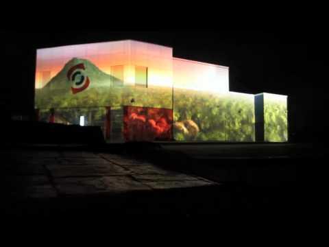 Setar Opening Store, Aruba. Video Mapping show by Oskar & Gaspar.