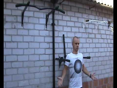 Тренажер Турник-брусья-пресс Universal Long для дома - YouTube