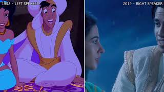 A Whole New World Aladdin 2019 side by side with Aladdin 1992.mp3