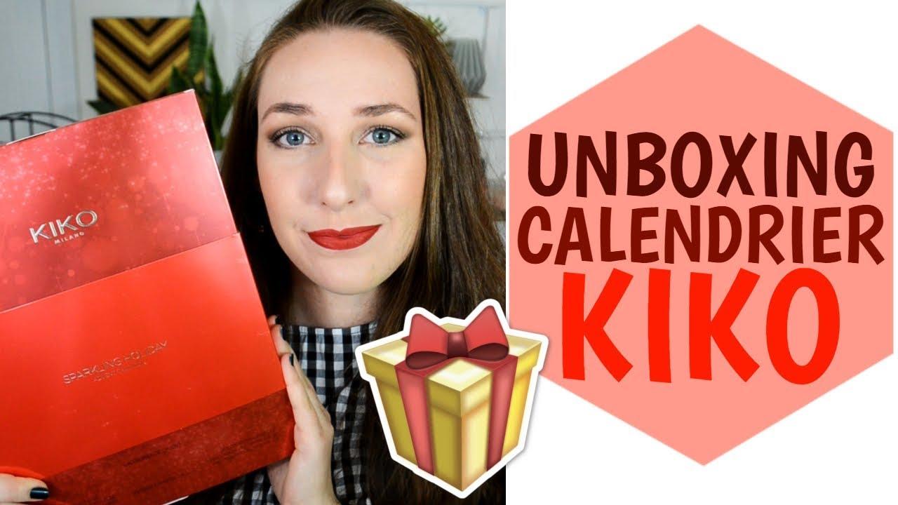 Calendrier De Lavent Kiko 2019.Calendrier De L Avent Kiko 2018 Unboxing Swatches La Vie En Rousse