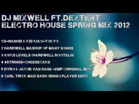 Dj Mixwell ft. DeXtent - Electro House Spring Mix 2012