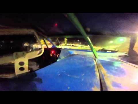Hesston Speedway 9/6/15 Feature (GoPro) Part 1