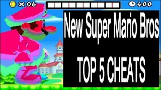 New Super Mario Bros TOP 5 CHEATS (DS)