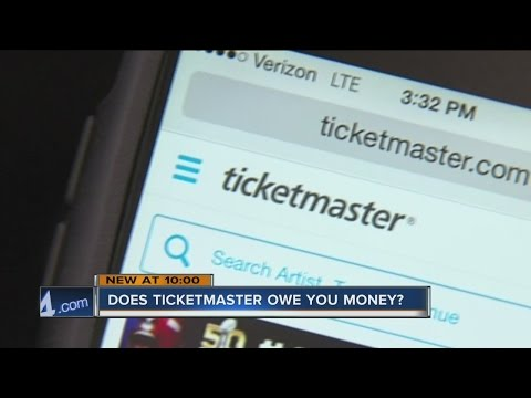 Does Ticketmaster owe you money? Mp3