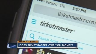 Does Ticketmaster owe you money?
