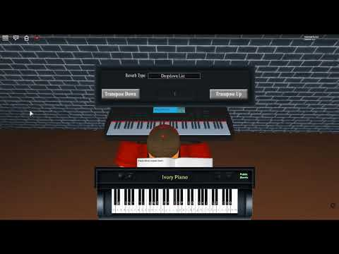 Clair De Lune by: Claude Debussy on a ROBLOX piano. [Revamped]