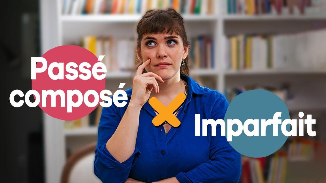 Como escolher entre o Passé Composé e o Imparfait no francês | Francês Ativo avec Elisa