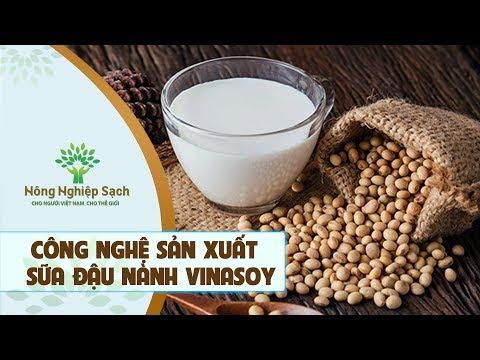 Nông Nghiệp Sạch | Công Nghệ Sản Xuất Sữa Đậu Nành Hiện Đại Của Vinasoy