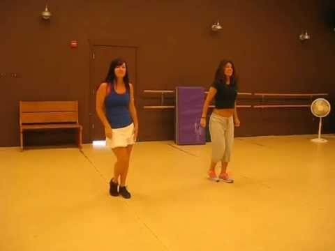Dance routine to Candy man by Christina Aguilera