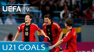 Germany have a rich history at under-21 level and we've picked out five of the best goals they've ever scored. see strikes from likes mesut Özil b...