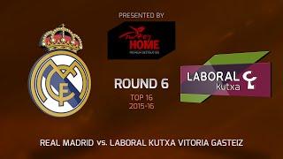 Highlights: Real Madrid-Laboral Kutxa Vitoria