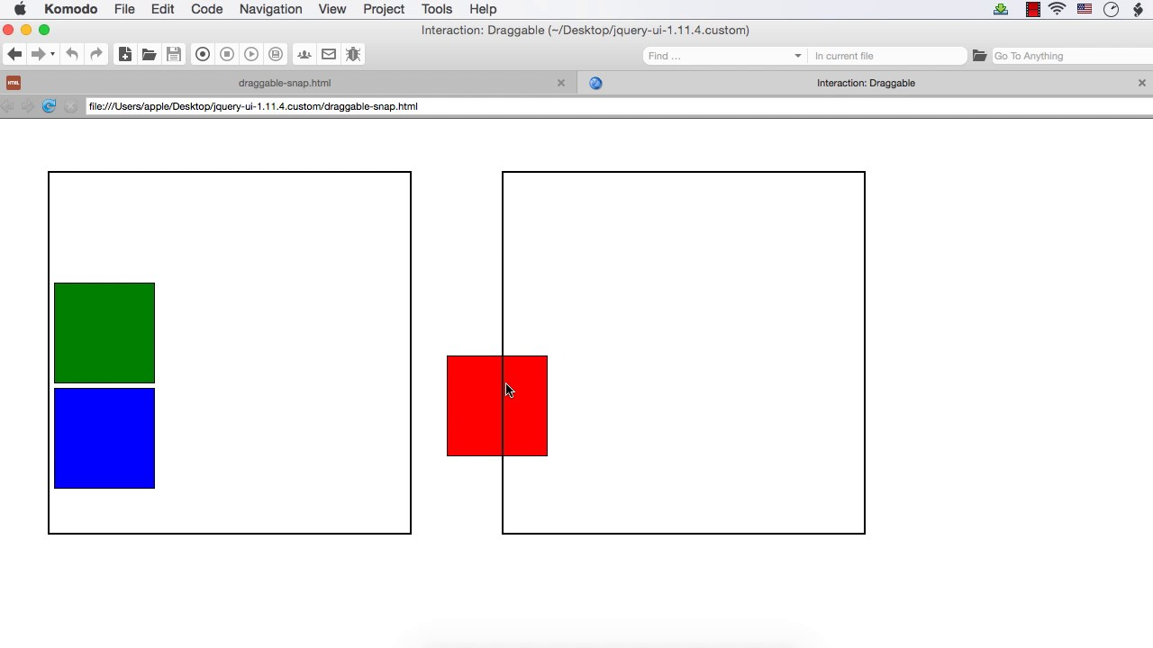 jQuery UI Draggable: Add Magnetic Effect to Draggable ...