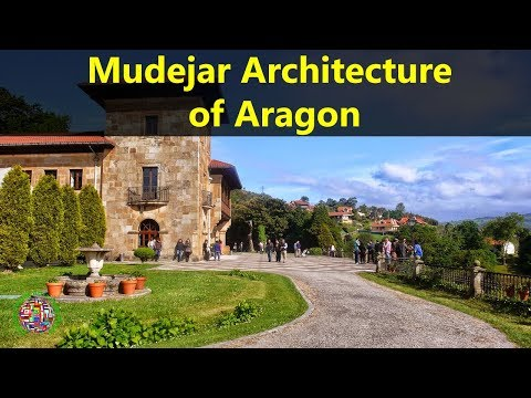 Best Tourist Attractions Places To Travel In Spain | Mudejar Architecture of Aragon Destination Spot