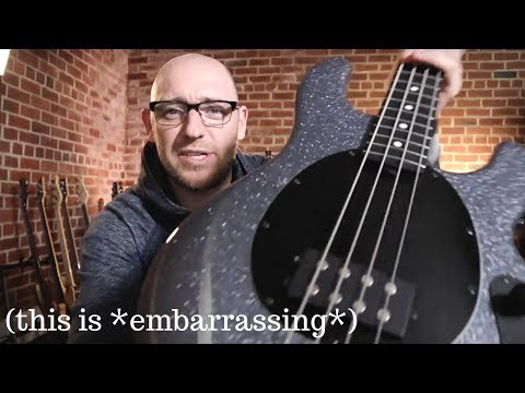 The Musicman Stingray confessional (this is embarrassing)