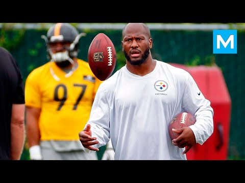 James Harrison NFL Strength Training | Muscle Madness