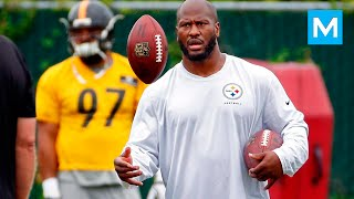 James Harrison NFL Strength Training   Muscle Madness