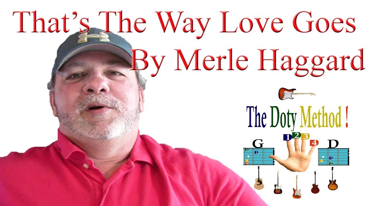 That's The Way Love Goes-Merle Haggard-Beginner-Guitar Lesson-Tutorial