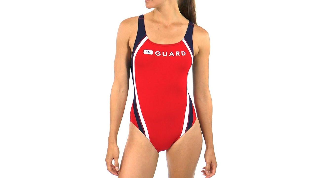 0951f5518199b Speedo Guard Quark Splice Pulse Back One Piece