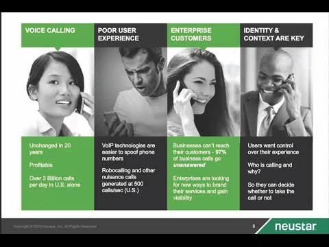 Neustar Webinar | Preventing Illegitimate Caller ID Spoofing and Robocalling
