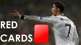 Cristiano Ronaldo ► All 9 Red Cards in Career   2005- 2015 HD