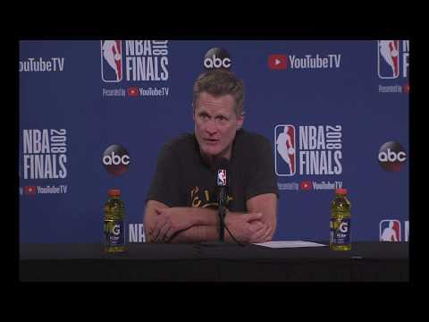 Steve Kerr   Game 2 Finals Press Conference