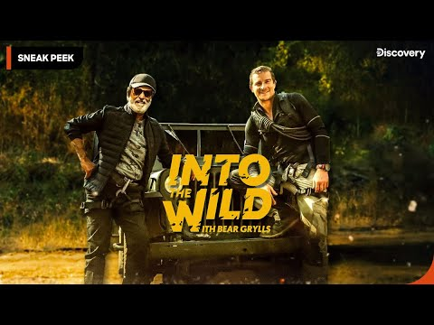 Sneak Peek | Into The Wild With Bear Grylls And Superstar Rajinikanth |  Premieres 23 March 8 PM