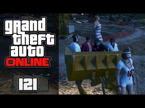 GTA ONLINE [HD+] #121 - Bagger Bagger, Baller Baller & HEIDIS TIERLIEBE ★ Let's Play GTA Online