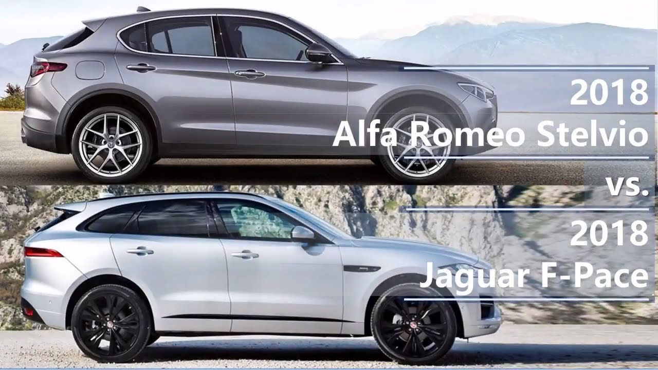2018 alfa romeo stelvio vs 2018 jaguar f pace technical. Black Bedroom Furniture Sets. Home Design Ideas