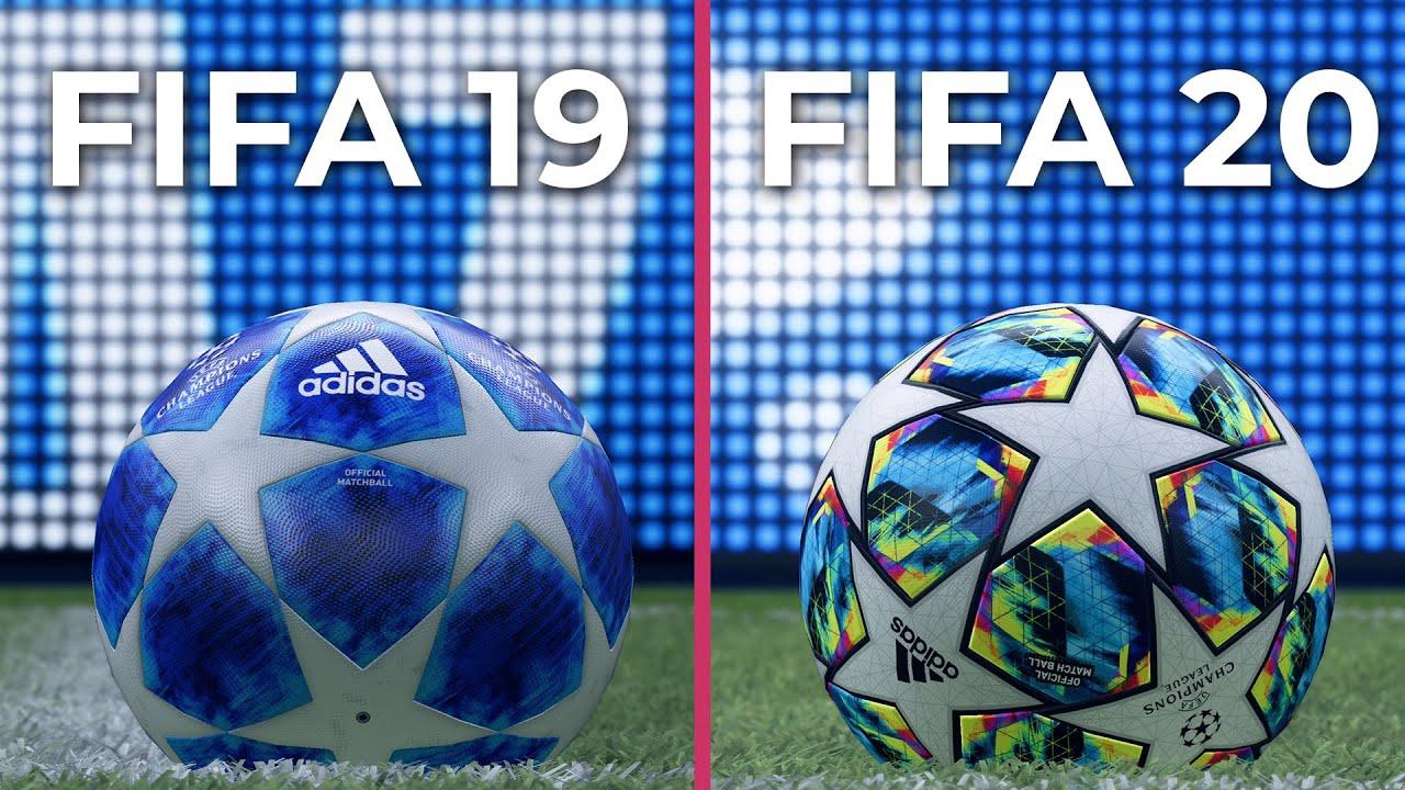 Conceder unidad Despedida  4K] FIFA 20 vs. FIFA 19 Graphics Comparison - YouTube