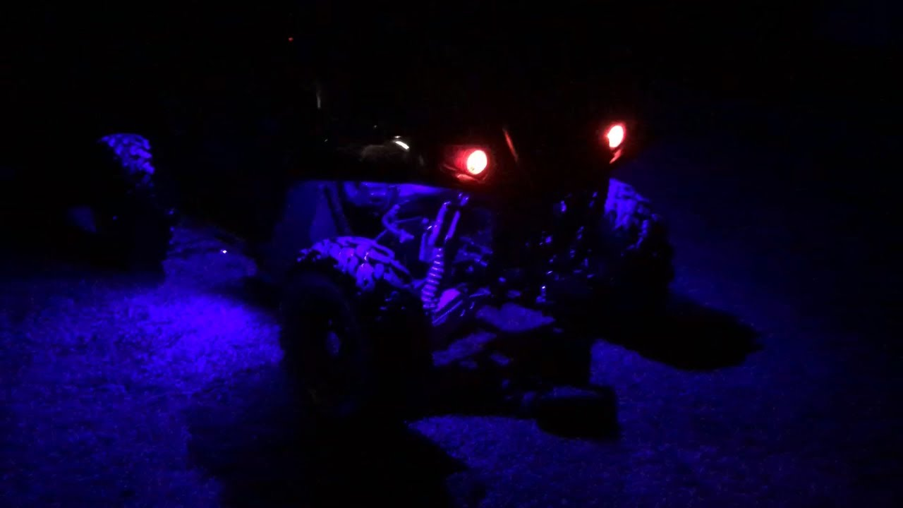 Installing Rock Lights On Polaris Rzr Along With Led Alley Diy Jeep Wrangler Light Wiring Remote Control Switch