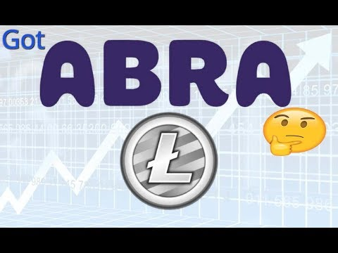 Got Abra? - A Cryptocurrency investor's paradise in your pocket!