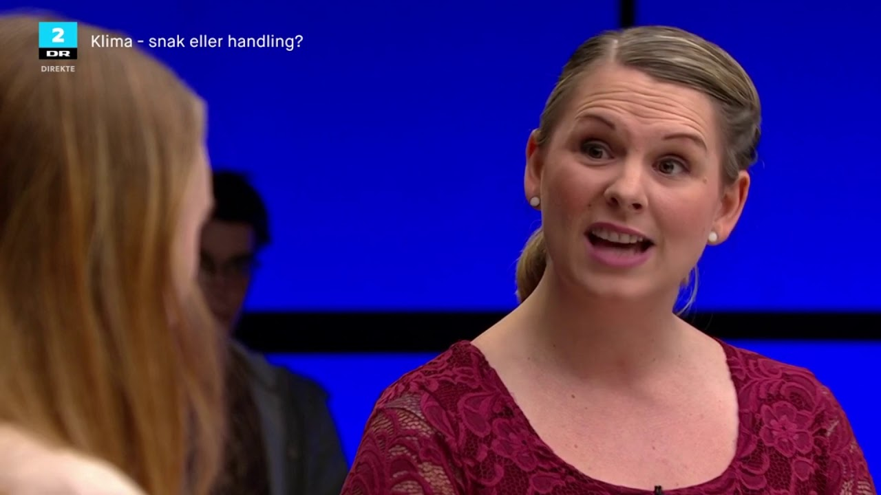 Mette Abildgaard diskuterer klima i Debatten