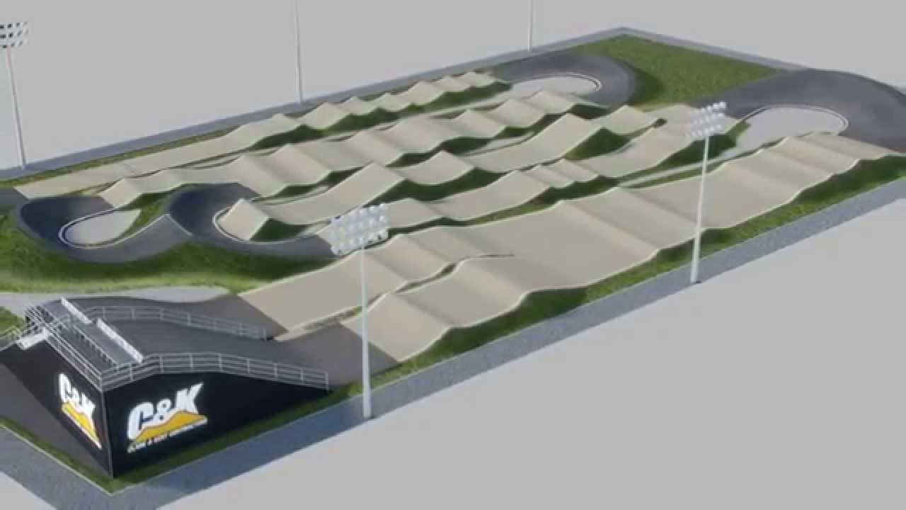 how to build a bmx race track