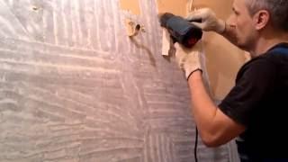 видео Как и можно ли клеить плитку на водоэмульсионную краску