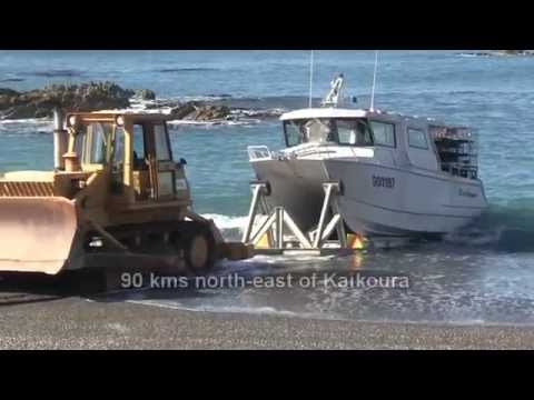Ward Beach Crayfishing Boat