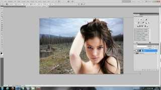Objekte schnell freistellen/ ausschneiden (maskierungsmodus) - Photoshop Tutorial