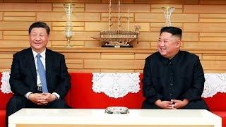 習近平昨抵平壤與金正恩會談 20190621 公視早安新聞