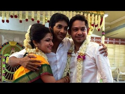 Vijay TV Anchor Divyadarshini Wedding Reception