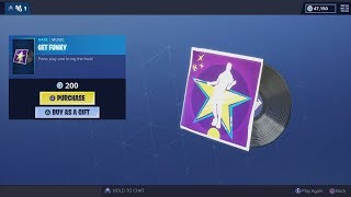 Kaufen Sie The NEW Fortnite Lobby Music! NUR 200 V-Bucks! 'GET FUNKY' Tanzmusik