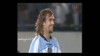 Eliminatorias 2002 : Argentina 2 vs Uruguay 1