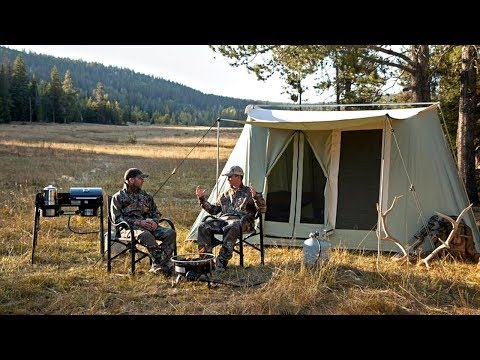 Great Canvas Tents Durable and 4 Season Capable