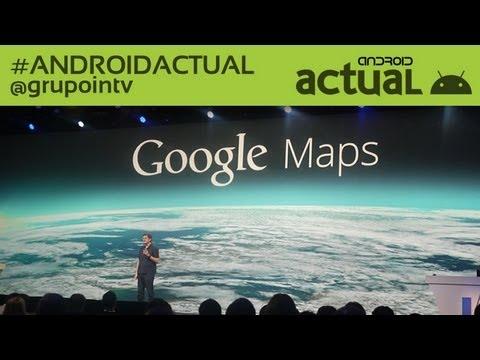 NEW GOOGLE MAPS - GOOGLE IO 2013 KEYNOTE