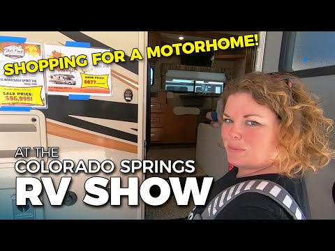 SHOPPING FOR A MOTORHOME | Great American RV Show In Colorado Springs