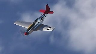 p 51 mustang southport airshow