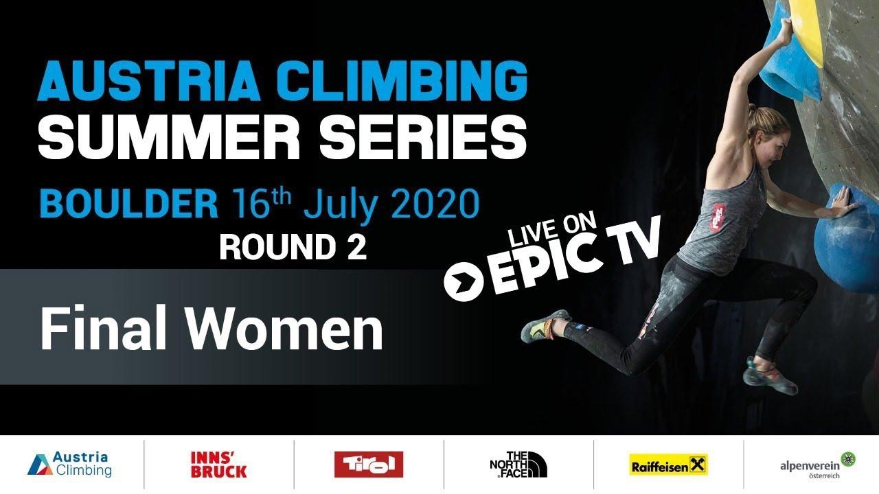 Austrian Climbing Summer Series Innsbruck #2  | Women's Bouldering Finals