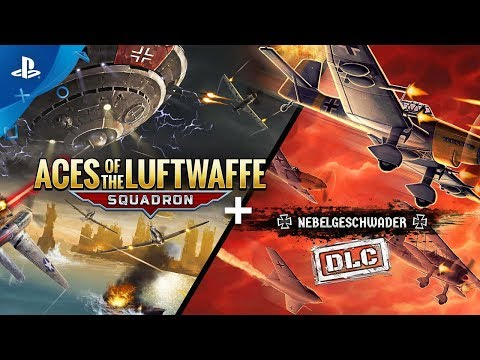 aces-of-the-luftwaffe---squadron:-extended-edition---gameplay-trailer-|-ps4